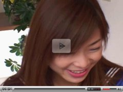 Japanese coed fucked at home