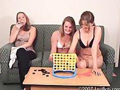 Mia and Ashton Play Strips Four In A Row