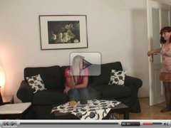 Redhead granny is banged by her son-in-law