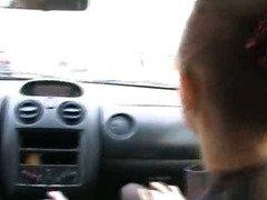 neat blowjob in my car