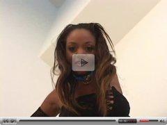 ebony pov clip
