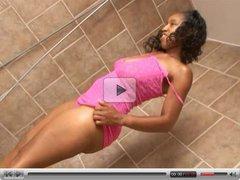 Ebony teens loves to suck & fuck a big hard cock