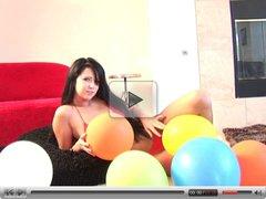 Balloon tease