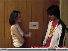 Young Filipino teen couple sex