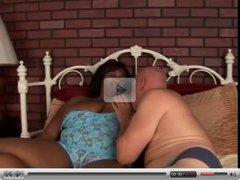 Beautiful big tits black BBW loves to fuck