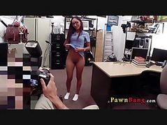 Nurse Gets Photoshoot At PawnShop