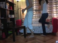 Young Teen Fucked At Home