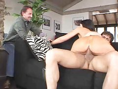 video 376 Big Tits Brunette Group Sex MILF