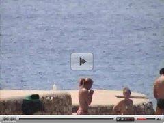 Candid Beach - topless girls