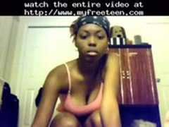 Sexy Ebony Teen Booty Shaking Nude  teen amateur teen cumshots swallow dp anal