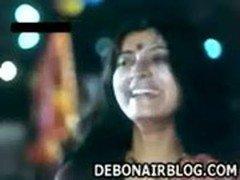 Hot Bengali actress Debashree Roy making love in the movie 36 Chowringhee  Lane