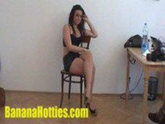 Casting - WILD teen in her first hardcore interview
