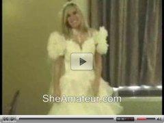 Stolen video My girlfriend bride In Action