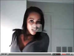 Brianna Frost in black fencenets Web cam Show