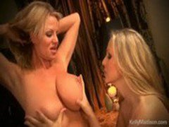 Kelly Madison and Julia Ann Have Steamy Lesbian Sex