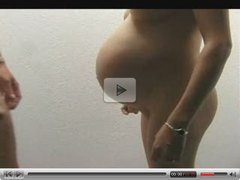 fucking a pregnant wife and creampie