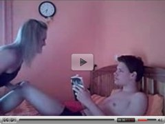 Young couple have hot sex