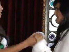 Celeste Star and Sunny Leone