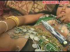 Hot bitch Indian fuck two guys