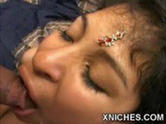 Dirty young girl cums hot in her mouth